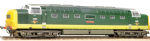 32-533 Bachmann Branchline Class 55 D9001 'St. Paddy' BR Two-Tone Green Weathered
